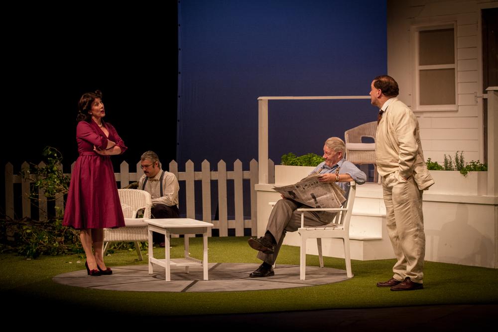 Actors (L to R): Dee Gibney, Steve Nolan, Brendan Corcoran, Jim Carroll.