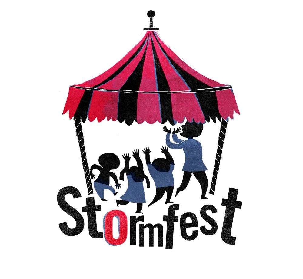 StormFest logo design: Alé Mercado