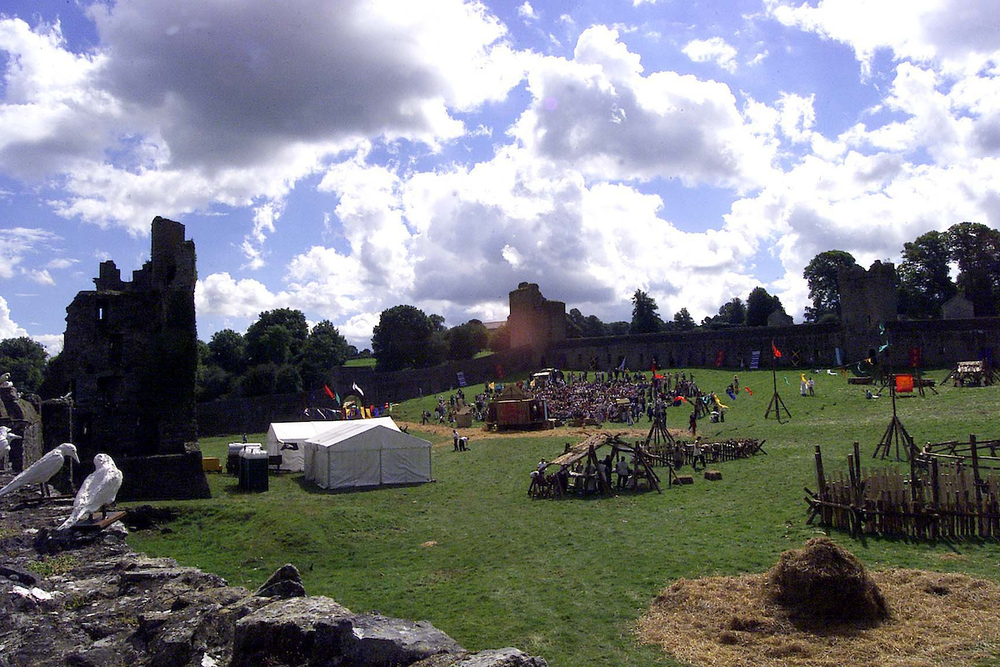 The Millenium open-air spectacle at Kells Priory, Kells, Co Kilkenny