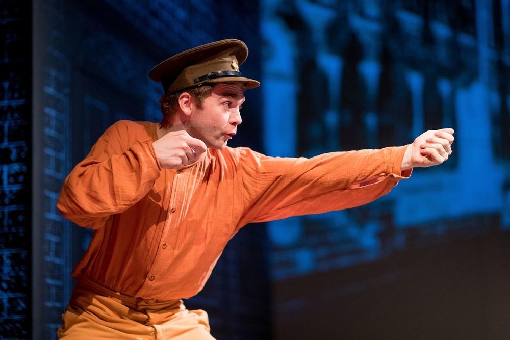 Actor Fionn Foley