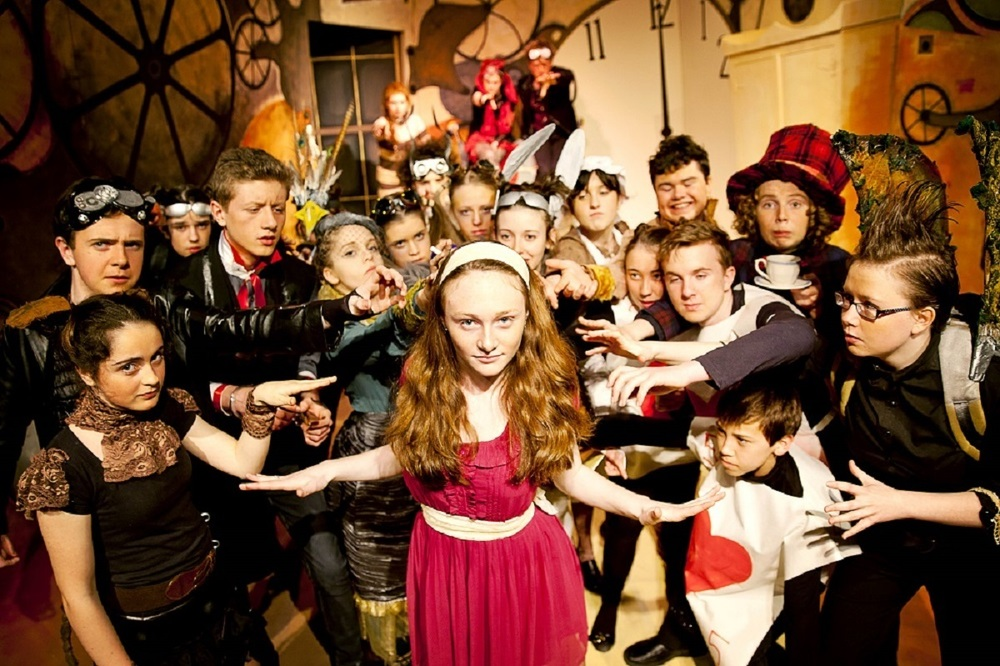 Barnstorm's Kilkenny Youth Theatre production of Alice in Wonderland