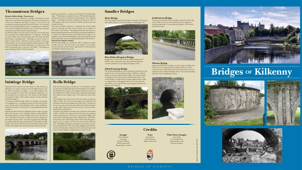 Bridges of Kilkenny Brochure