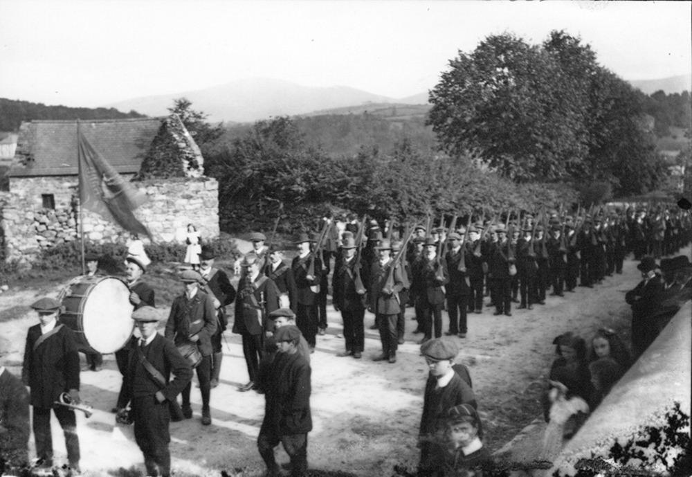 Graig and Borris contingents of Irish Volunteer Force JJ 34 .png