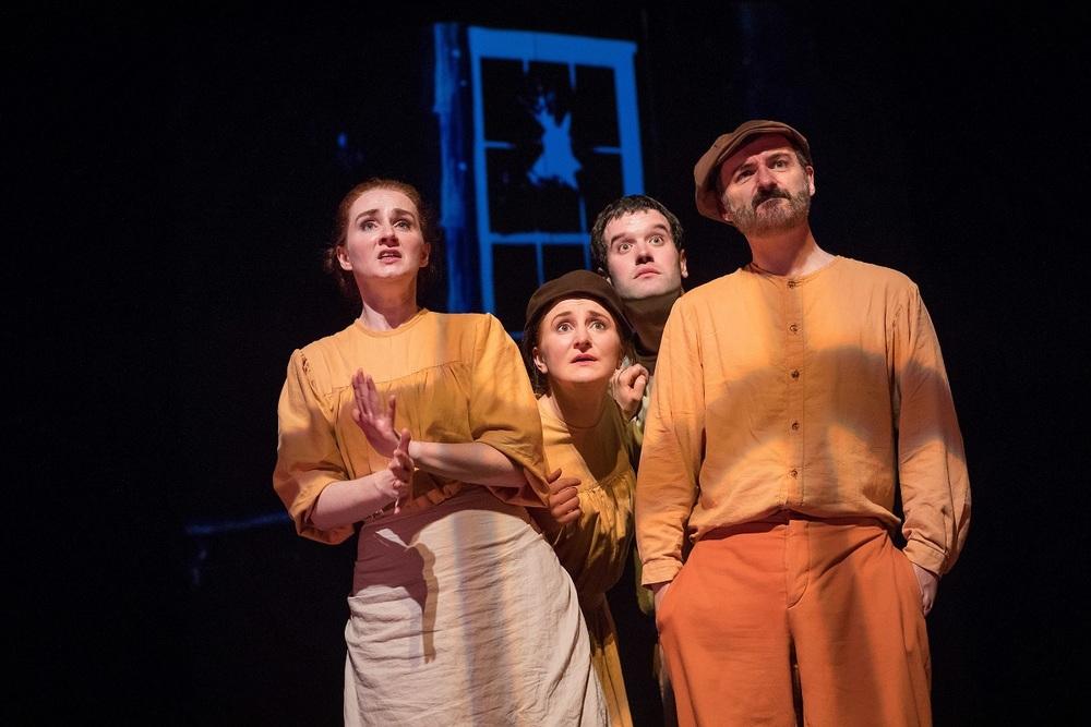 Actors (L to R): Pamela Flanagan, Meg Healy, Conal O'Shiel, Michael Bates