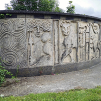 Ossory Bridge - Mural Detail