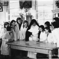 At Graiguenamangh Convent School