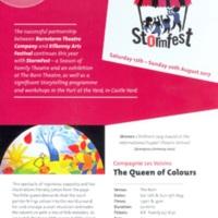 StormFest at Kilkenny Arts Festival (2017)