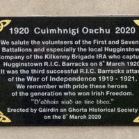 Hugginstown, County Kilkenny Commemorative Plaque