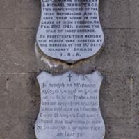 Friary Street Memorial, Kilkenny City