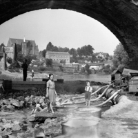 Thomastown Bridge, post 1947 flood